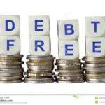 Debt Free cubes image